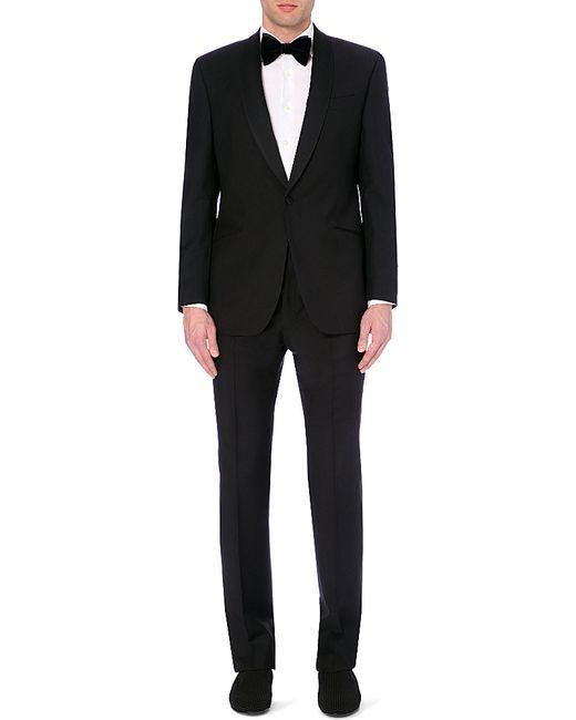 Richard James | Black Wool And Mohair-blend Tuxedo for Men | Lyst