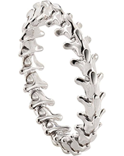 Shaun Leane | Serpent's Trace 18ct White-gold Ring | Lyst