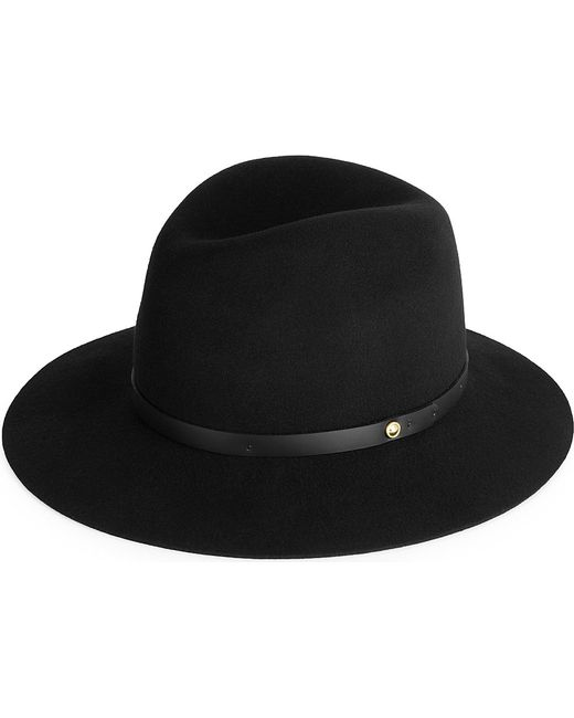 Rag & Bone | Black Floppy Brim Fedora Hat | Lyst