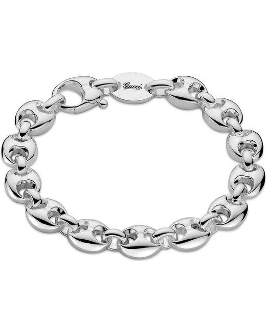 Gucci | Metallic Marina Chain Small Sterling Silver Bracelet | Lyst