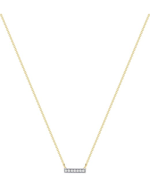The Alkemistry - Metallic Dana Rebecca 14ct Yellow-gold And Diamond Necklace - Lyst