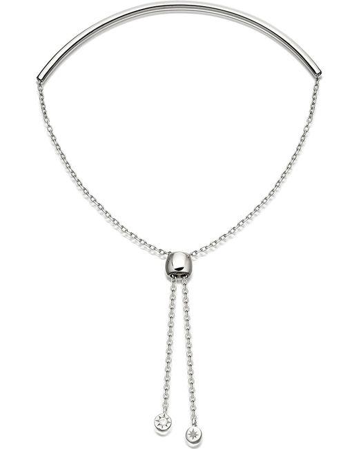 Astley Clarke - Metallic Cylinder Kula Biography Sterling Silver Bracelet - Lyst