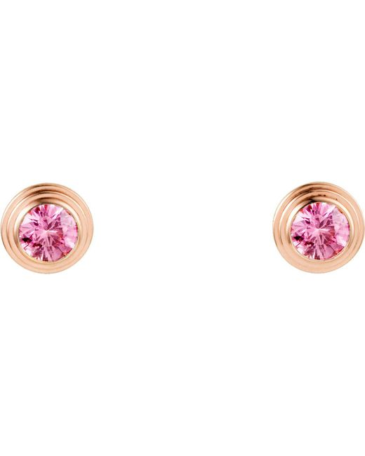 Cartier - Saphirs Légers De 18ct Pink-gold And Sapphire Earrings - Lyst