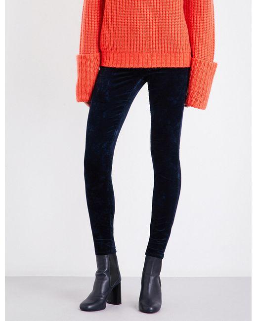J Brand | Black 815 Super-skinny Velvet Jeans | Lyst