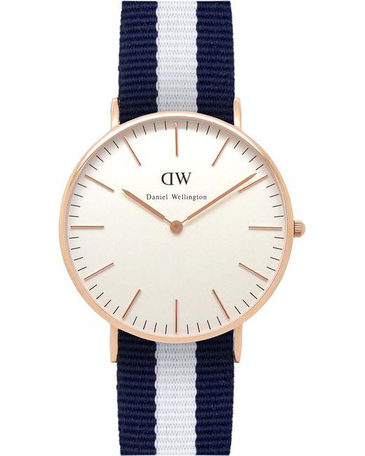 Daniel Wellington - Black 0503dw Classic Glasgow Ladies Watch - Lyst
