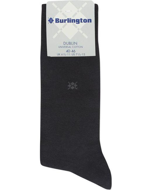 Burlington - Black Dublin Cotton Socks for Men - Lyst