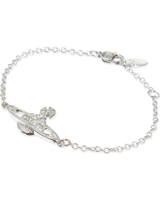 Vivienne Westwood   Metallic Bas Relief Orb Bracelet   Lyst