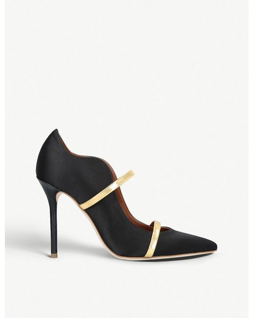 Malone Souliers - Black Maureen 100 Satin Courts - Lyst