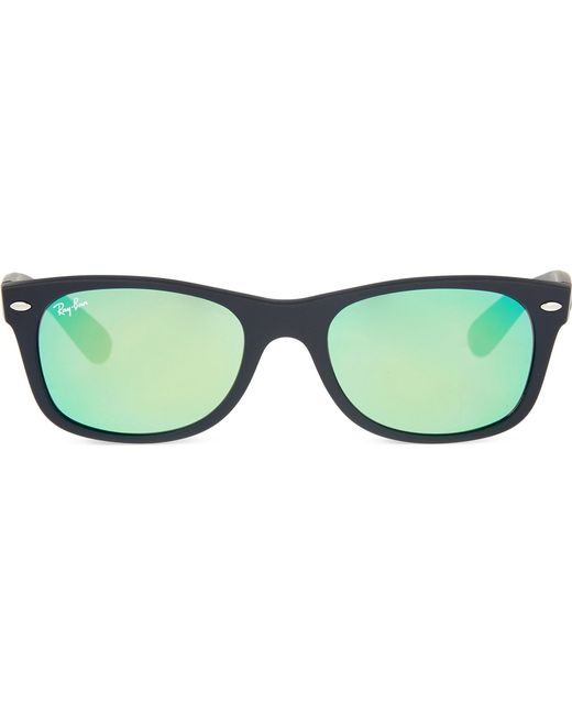 5c5df71a5f Ray-Ban Rb2132 New Wayfarer Sunglasses in Black - Lyst