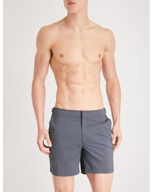 f09dca0715323 Orlebar Brown Regular Swim Shorts in Gray for Men - Lyst
