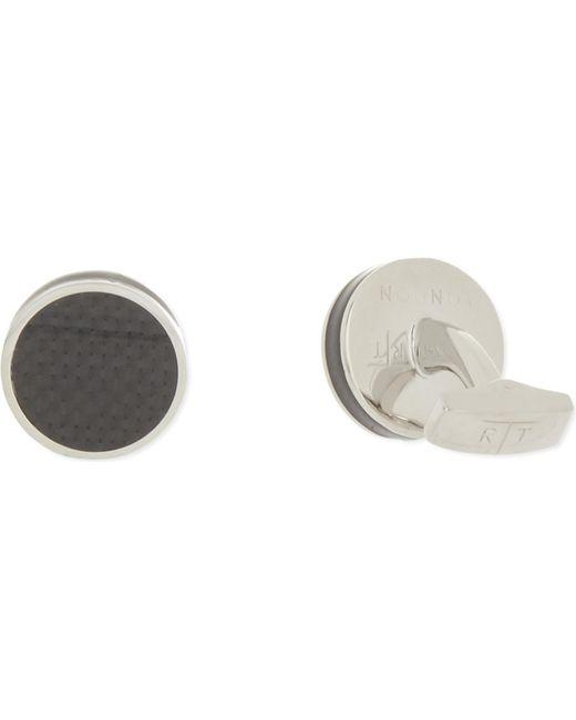 Tateossian | Metallic Round Cufflinks for Men | Lyst