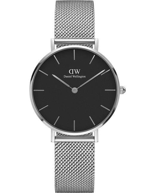 Daniel Wellington - Black Classic Petite Stainless Steel Watch - Lyst