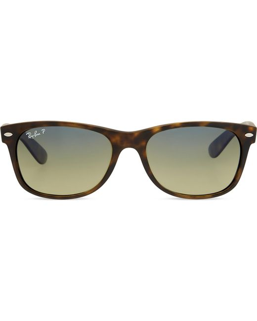 bfcc57524e Ray-Ban Rb2132 Tortoiseshell New Wayfarer Sunglasses in Brown - Lyst