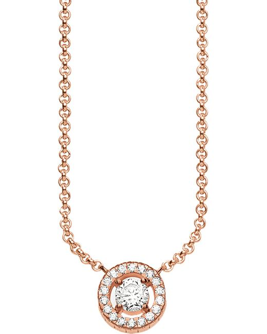 Thomas Sabo | Metallic Light Of Luna 18ct Rose Gold-plated Sterling Silver Necklace | Lyst