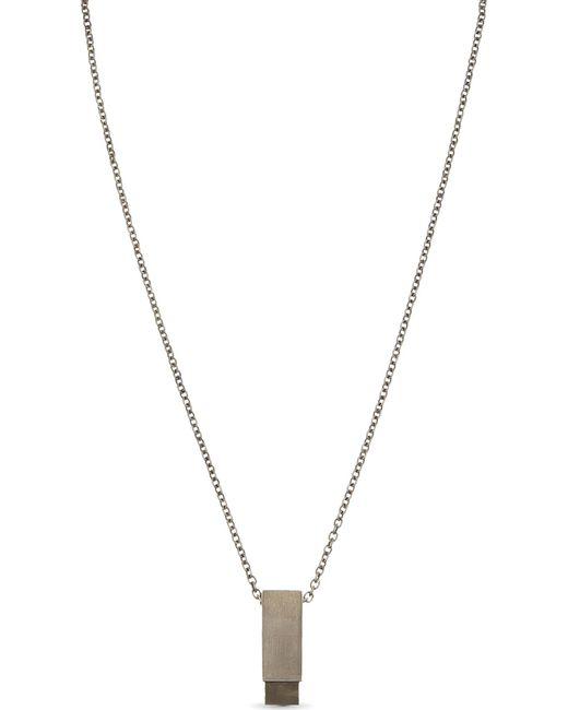 Parts Of 4   Metallic Amulet Cuboid Pyrite Necklace   Lyst
