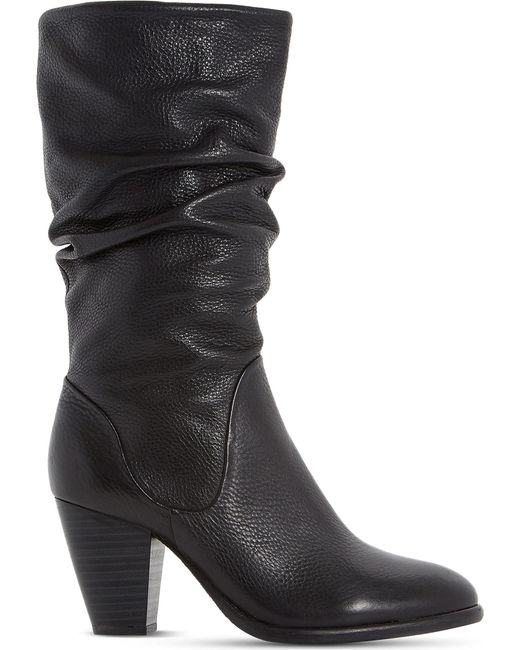 Dune - Multicolor Ladies Black Comfortable Rossy Leather Calf Boots - Lyst