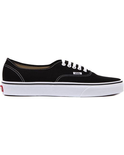 a539334b97 Vans Authentic Low-top Trainers in Black for Men - Save 19% - Lyst