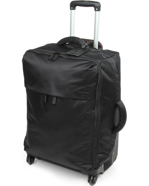 Lipault - Black Four-wheel Trolley Suitcase 65cm - Lyst