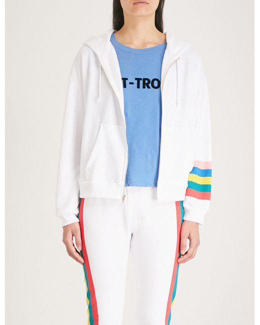 Wildfox - White Rainbow Print Hoody - Lyst