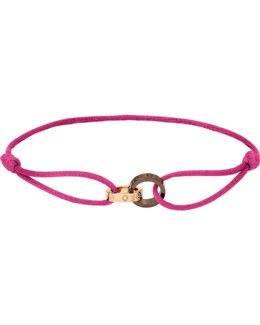 Cartier - Love 18ct Pink-gold - Lyst
