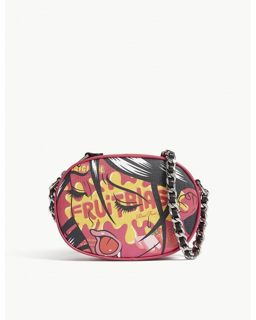 Moschino - Pink #eyes Shoulder Bag - Lyst