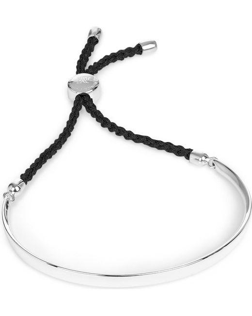 Monica Vinader | Metallic Fiji Sterling Silver Friendship Bracelet | Lyst