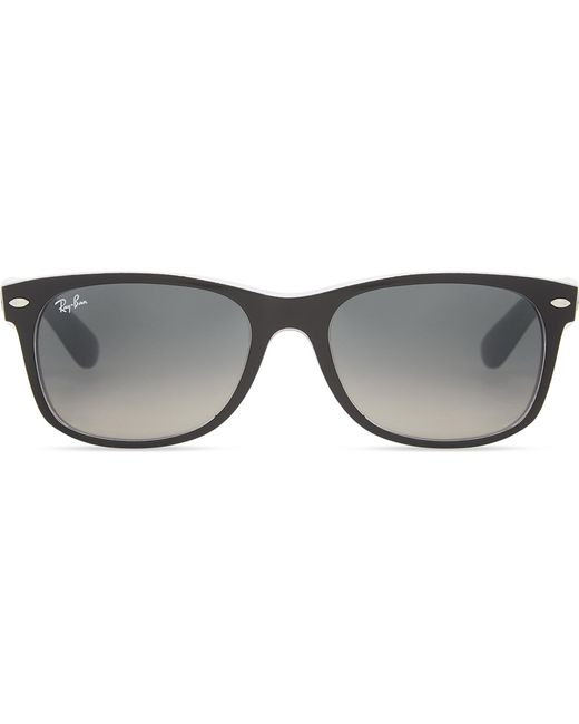 4a1c6ae8cc Ray-Ban Rb2132 New Wayfarer Sunglasses in Black - Lyst