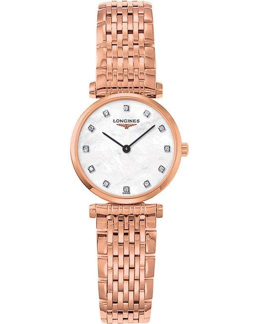 Longines - Metallic L4.209.1.97.8 La Grande Classique Rose Gold And Diamond Watch - Lyst