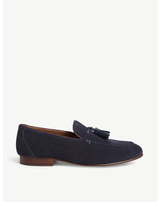 ALDO - Blue Wyanet Leather Loafers for Men - Lyst