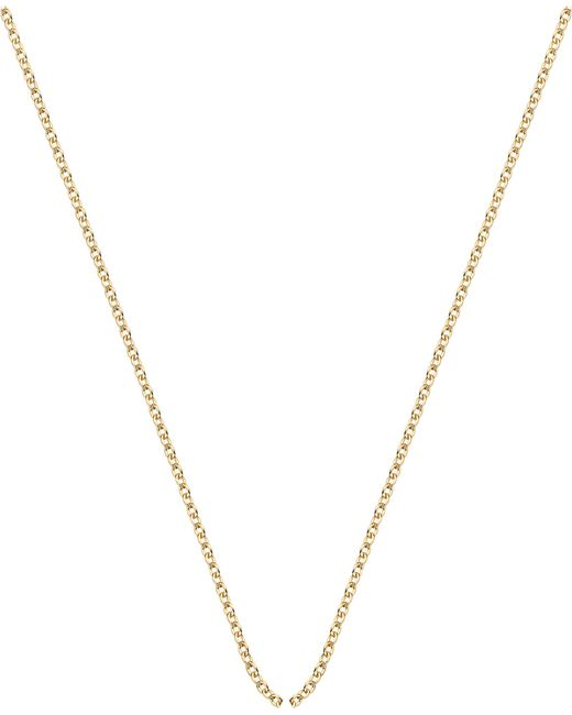 Monica Vinader | Metallic 18ct Yellow-gold Plated Rolo Neck Chain | Lyst