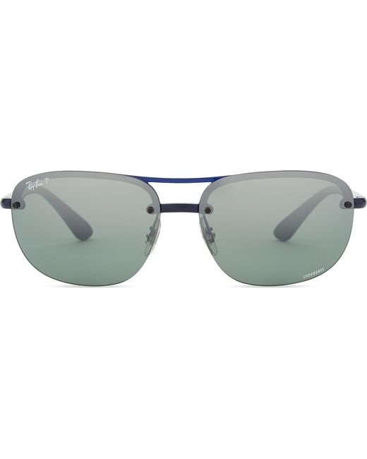 bf7c7f4327 Ray-Ban - Blue Rb4275ch Chromance® Square-frame Sunglasses for Men - Lyst