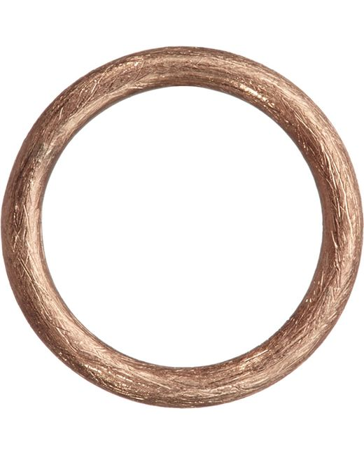 Annoushka - Metallic Hoopla 18ct Rose-gold Small Hoop Pendant - Lyst