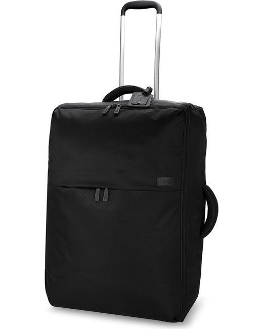 Lipault - Black 0% Pliable Two-wheel Suitcase 72cm for Men - Lyst