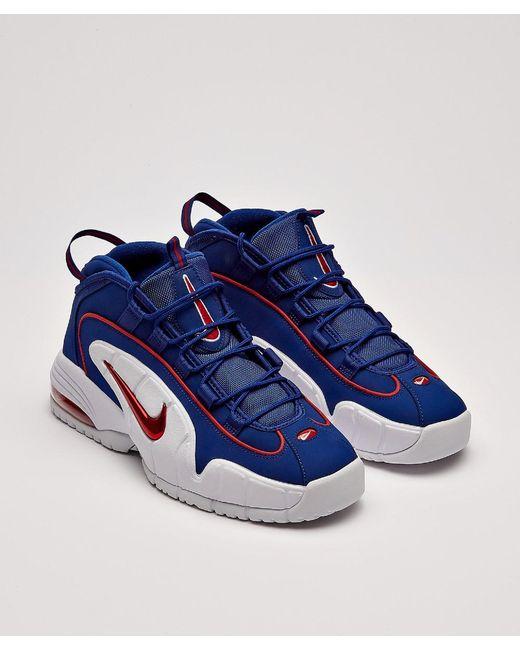 4135b34fea ... Nike - Blue Air Max Penny Sneaker for Men - Lyst ...