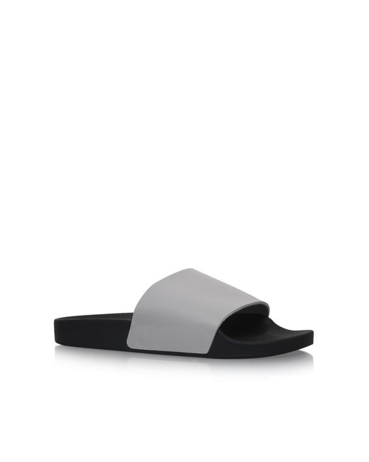 KG by Kurt Geiger | Gray Lydd Flat Slip On Sandals for Men | Lyst