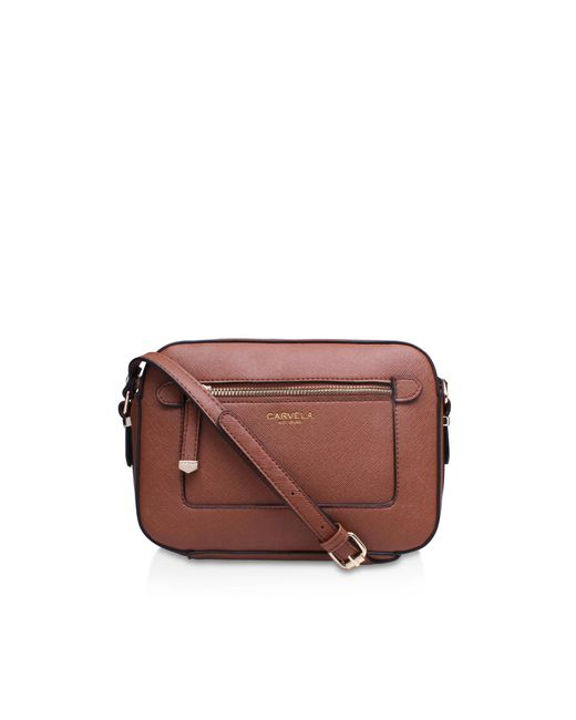 Carvela Kurt Geiger - Brown Mia2 X Body Bag - Lyst