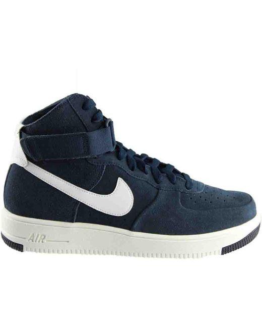 ... Nike - Blue Air Force 1 Ultraforce Hi for Men - Lyst ... e7112000b