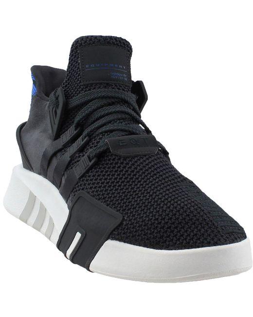 Adidas - Black Eqt Basketball Adv for Men - Lyst ... f9f22c7c0