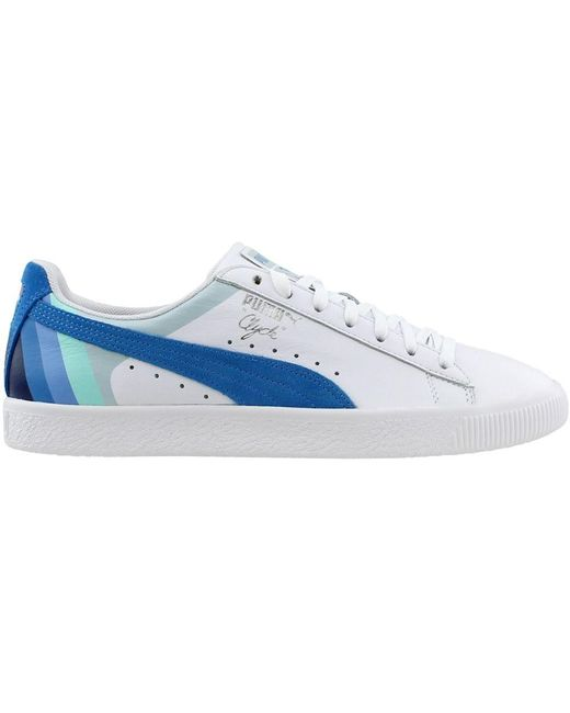 67fa3a9f086 ... PUMA - White Pink Dolphin Clyde for Men - Lyst ...