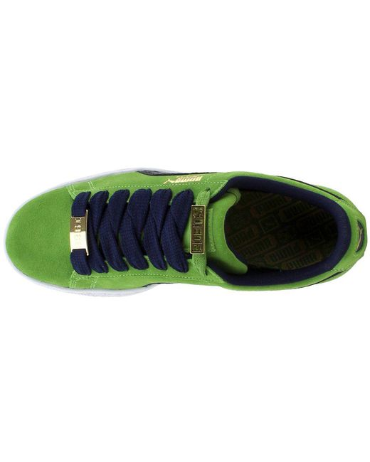 Lyst - PUMA Suede Classic Bboy Fabulous in Green for Men - Save 51% aab89efa0