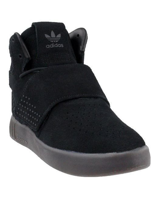 Adidas - Black Tubular Invader Strap for Men - Lyst ... d040be2cd