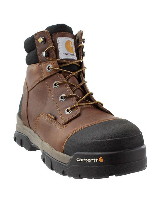 "Carhartt - Brown 6"" Energy Waterproof Composite Toe Cme6355 Industrial Boot for Men - Lyst"