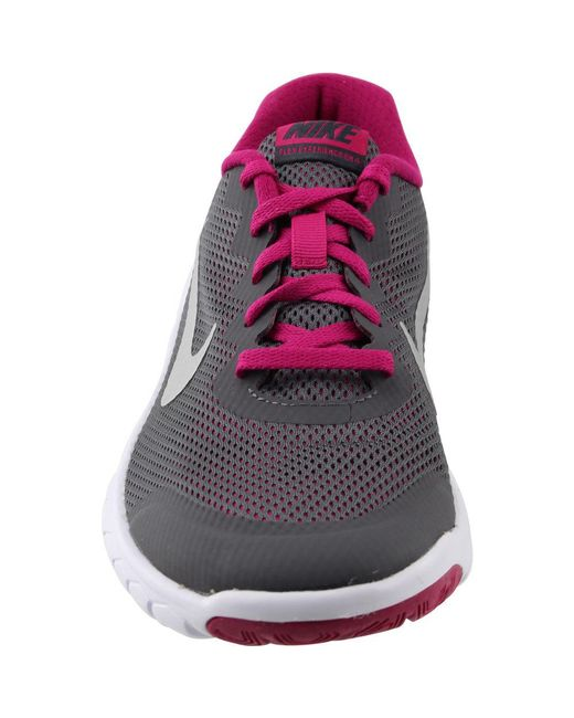 046ddbf4afd ... Nike - Gray Flex Experience 4 Grade School - Lyst ...