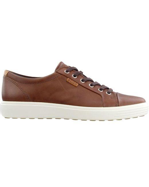 3625f2b135c13 ... Ecco - Brown Soft 7 Sneaker for Men - Lyst ...
