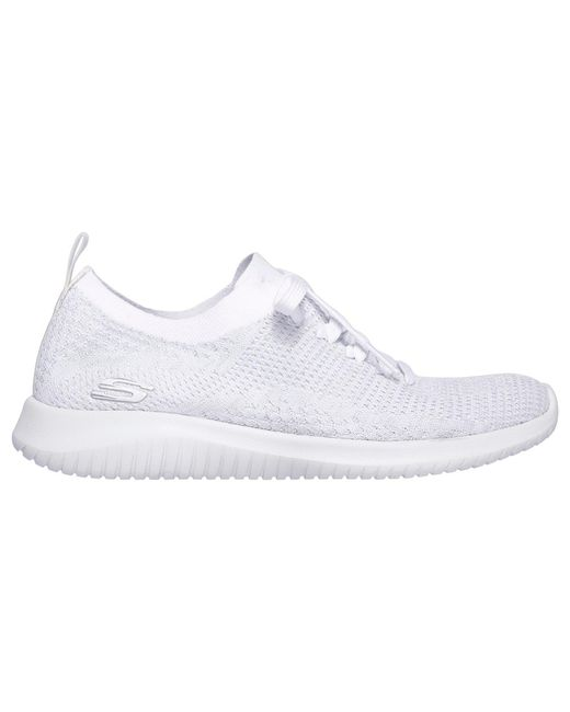ae0fbbda9372 Skechers - White Ultra Flex - Lyst ...