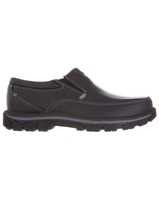 Skechers - Black Relaxed Fit Segment The Search for Men - Lyst
