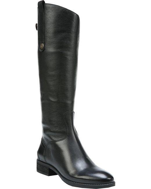 Sam Edelman - Black Penny 2 Wide Calf Riding Boot - Lyst