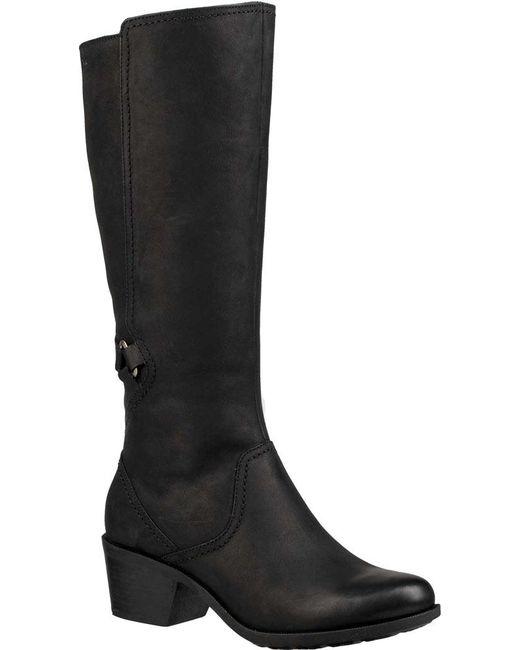 Teva - Black Foxy Tall Wp Knee High Boot - Lyst