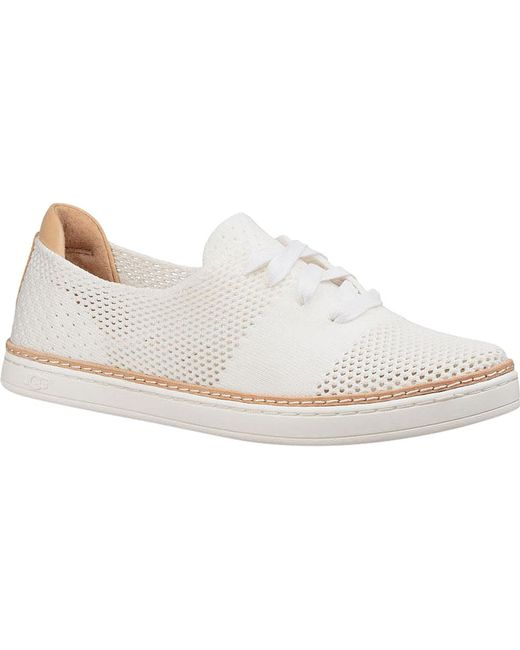 UGG® Pinkett Perforated Lace-Up Sneakers 1zmCn