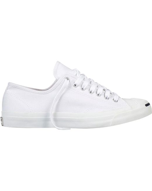 88a8de9fc86bad Lyst - Converse Jack Purcell Jack Ox Canvas Sneaker in White